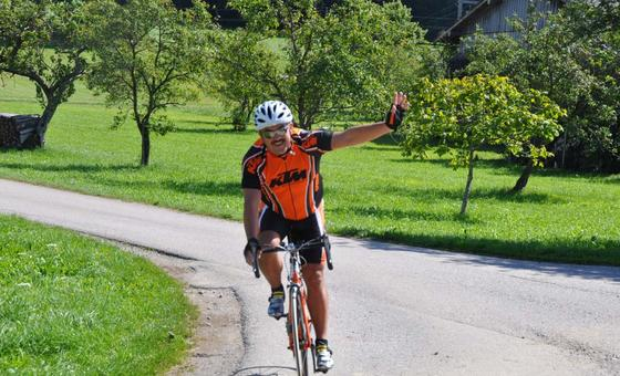road bike tour hotelier gastagwirt eugendorf
